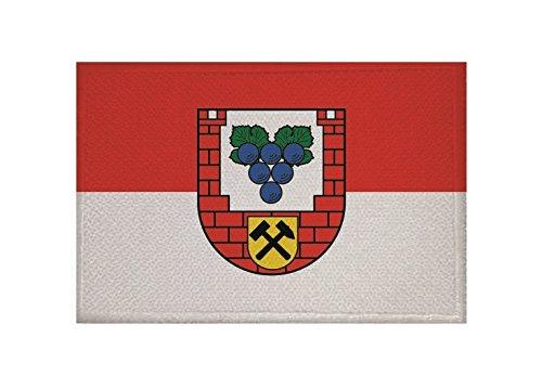 U24 Aufnäher Burgenlandkreis Flagge Aufbügler Patch 9 x 6 cm