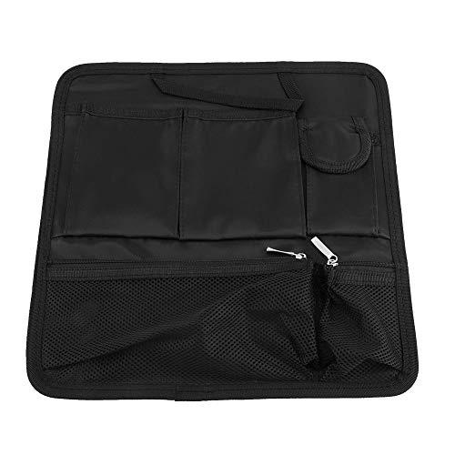 Multi-artículo Acabado Bolsa de Almacenamiento Bolso Mochila Organizador Inserte Bolsa de Viaje portátil Organizador de Hombro(Negro)