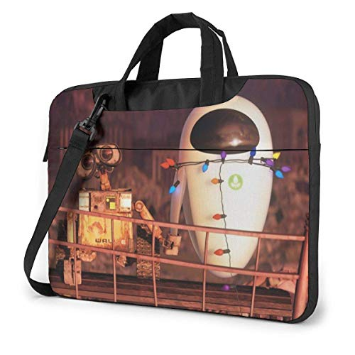 15.6 inch Laptop Shoulder Briefcase Messenger Movie Wall.E Tablet Bussiness Carrying Handbag Case Sleeve