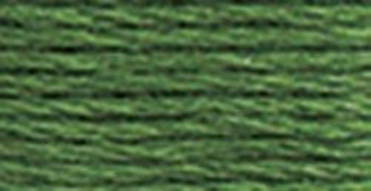 DMC 117-367 Mouline Stranded Cotton Six Strand Embroidery Floss Thread, Dark Pistachio Green, 8.7-Yard