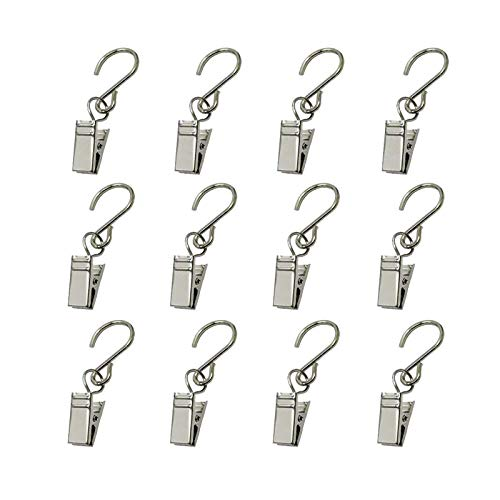 GuangTouL Party Light Hanger outdoor Lights clips Party Supplies Apply to Edison String Lights Outdoor Hooks and Courtyards Camping Tents Christmas Decoration Accessories(30 Pack)