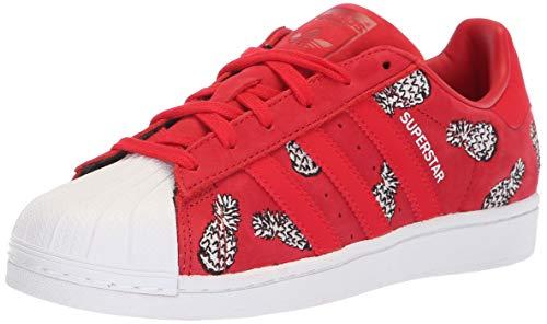 adidas Originals Superstar, Zapatillas Deportivas. Mujer, Rojo Escarlata Blanco, 40 EU