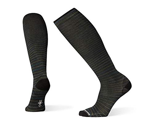 Smartwool PhD Outdoor Light Socks - Men's Crusin' Along Compression Wool Performance Sock