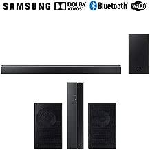 Samsung 370W Virtual 5.1.2-Channel Soundbar System w/Wireless Subwoofer (HWQ80R) SWA-9000S/ZA Surround Sound bar Home Speaker Set of 2
