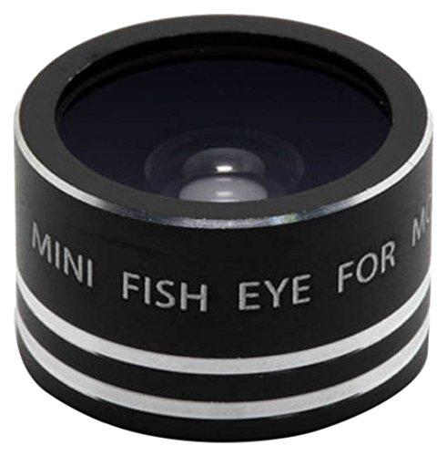Iboolo – MN-FEL – Mini-lens Fish-Eye 180 ° voor smartphone – zwart
