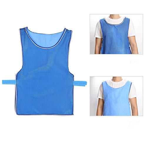Kühlkleidung, Outdoor-Eiskühlweste für Männer und Frauen Sommerkühlung Sonnenstich Hochtemperatur-Schutzkleidung Sportweste