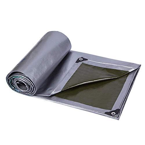 QIANGDA Bâche De Protection Paillage Anti-Statique Couverture De Camions Imperméable Anti-âge Pliage Facile (190g/m²) Taille Personnalisée (Taille : 5 x 6m)
