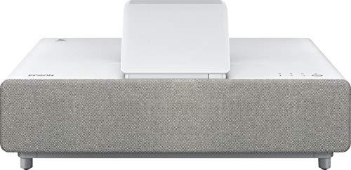 Epson EH-LS500W 4K Pro-UHD, Ultrakurzdistanz-Laserprojektor (4000 Lumen, Kontrastverhältnis 2.5000.000:1) weiß