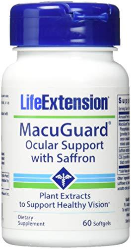 Life Extension Macuguard Ocular Support (60 Softgels), 1 Units
