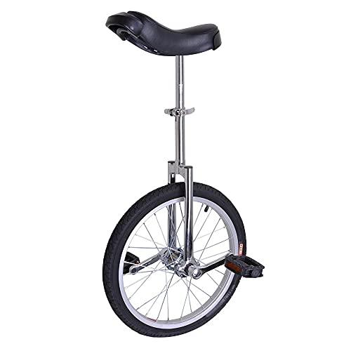 QQSA 18 Pulgadas Unicycle Ciclismo Scooter Circo Bicicleta Joven Equilibrio Ejercicio Solo Rueda Bicicleta Rueda de Aluminio