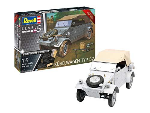Revell-03500 Voiture Militaire Kübelwagen Typ 82 Maquette, 03500, à Peindre
