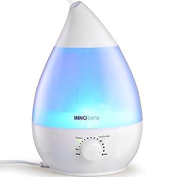 Tranquille et calme: Technologie Ultrason évite le bruit gênant, vous pouvez profiter de votre sommeil et de travailler confortablement avec l'humidificateur. Sécurisé et simple à utiliser: L'humidificateur est facile à utiliser et il s'éteindra auto...