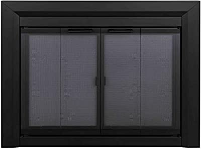 Pleasant Hearth Clairmont Fireplace Glass Door, Large (CM-3012) by GHP Group