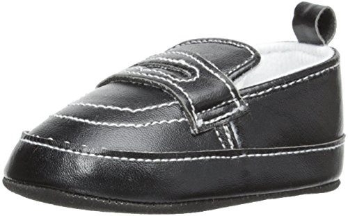 Little Me Baby-Boys Newborn Penny Loafer, Black, 6-9 Months