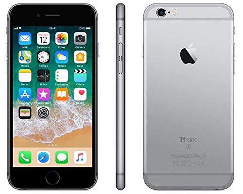 Smartphone Iphone 6s 64gb Cinza Espacial