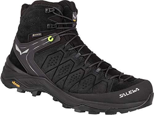 Salewa MS Alp Trainer 2 MID GTX Men Größe UK 9,5 Black/Black