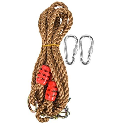 FOLOSAFENAR Cordón Accesorio para Columpio de Cuerda Larga Vida útil Durable Equipado con una Bolsa con cordón Extensión de Hamaca para Columpio al Aire Libre, para Que jueguen los niños