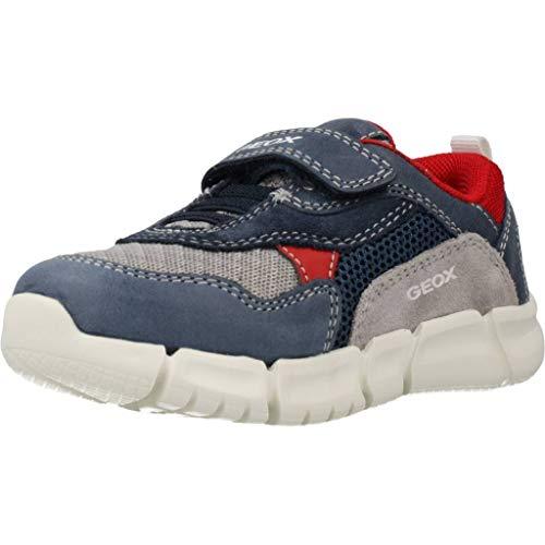 Geox Baby Jungen B FLEXYPER Boy A Sneaker, Blau (Navy/Grey C0661), 23 EU