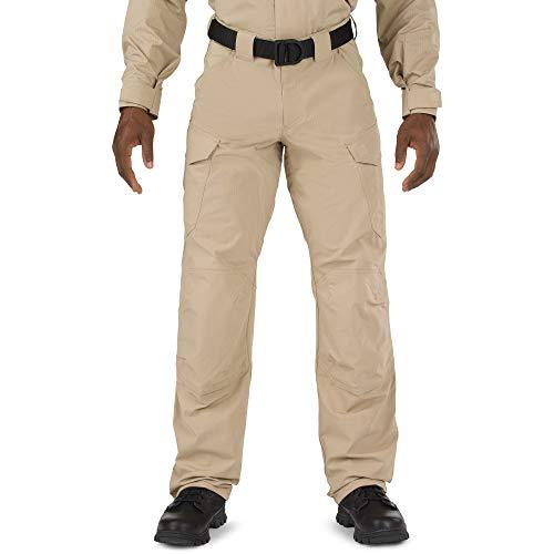 5.11 Tactical Men's Stryke TDU Flex-Tac Ripstop Fabric Pants, Teflon Coating, Kneepad Ready, TDU Khaki, 38Wx34L, Style 74433