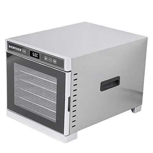 Deshidratador de frutas eficiente ajustable a temperatura Deshidratador de alimentos Suministros de cocina, para secar alimentos(European regulations)