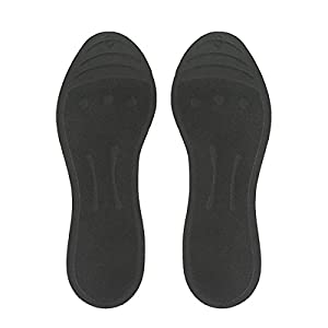 Liquid Massaging Orthotic Insoles Glycerin Filled Insert Shoe Inserts Absorbs Shock Therapeutic Foot Massage for Men Women, Size XS