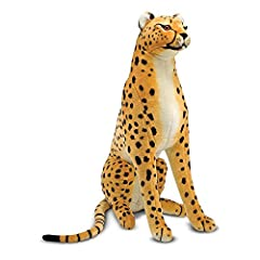 Lifelike plush toy with beautiful markings and realistic details Magnificent attention to detail shows in the realistic markings on the face Makes a striking playtime companion or decorating accent Makes a great gift for ages 3 and up, for hands-on, ...