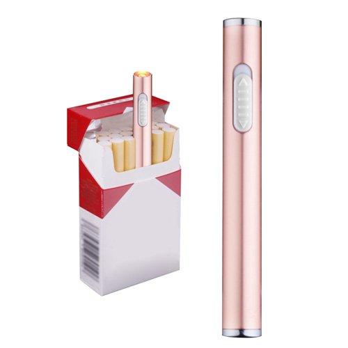 Mini USB Feuerzeuge Wiederaufladbar Winddicht flammenlose elektronische Plamsa Feuerzeug Tragbar