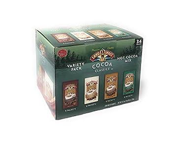 Land O Lakes Classics Instant Premium Hot Cocoa Assortment Box 34 packets