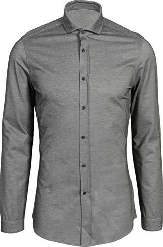 Drykorn Herren Hemd Solo in Grau meliert M