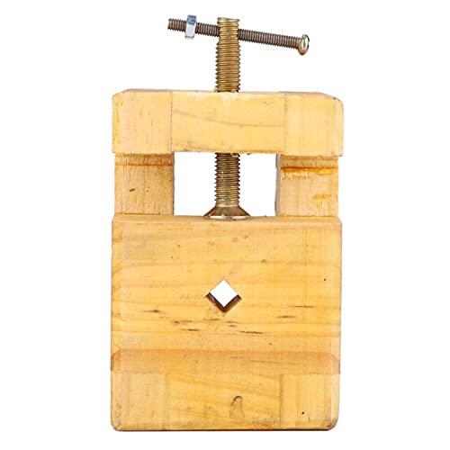 Práctico alicates planos duraderos 1 pieza de madera y acero para tallar (pequeña cama con sello grabado)