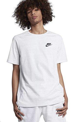 Nike - Sportswear Advance 15 Hommes T-Chemise (Blanc) XL