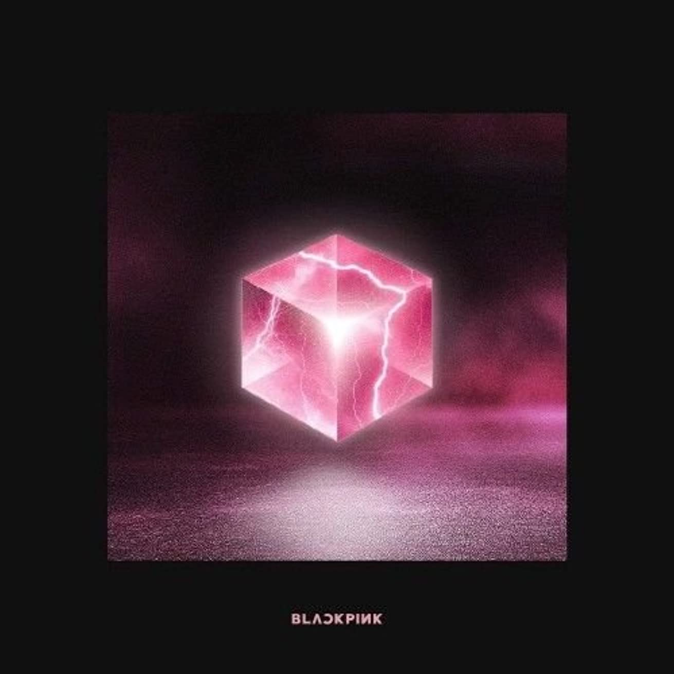 BLACKPINK - [Square Up] 1st Mini Album Black Ver CD+Booklet+PhotoCard+SelfieCard+Lennticular Lyrics+PostCard K-POP Sealed