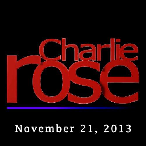 Charlie Rose: Jonathan Ive, Marc Newson, and Robert Caro, November 21, 2013 audiobook cover art