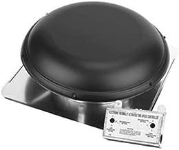 AIR VENT 53847 Roof Mounted Power Attic Ventilator, Black