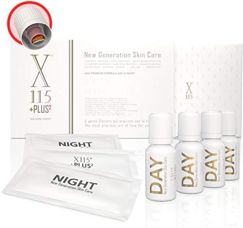 X115®+Plus ▶ Colágeno Marino + Ácido hialurónico ◀ Mejor Suplemento Para la Piel 2019 | Antiarrugas | ▪ Resveratrol ▪ Q10 ▪ Vitamina C, E, D ▪ Ácido lipoico ▪ Polifenoles ▪ Centella ▪ Zinc ▪ Equinácea