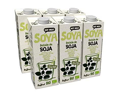 SOYFRUIT - Latte di soia biologico, 1000 ml, confezione da 6