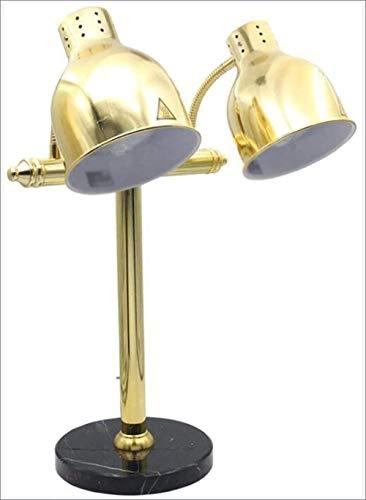 TANERDD eetverwarmer dubbele kop isolatie tafellamp levensmiddelen-indicatielampje eten barbecue lamp voor buffet hotel-handel voedingsmiddelservice apparatuur