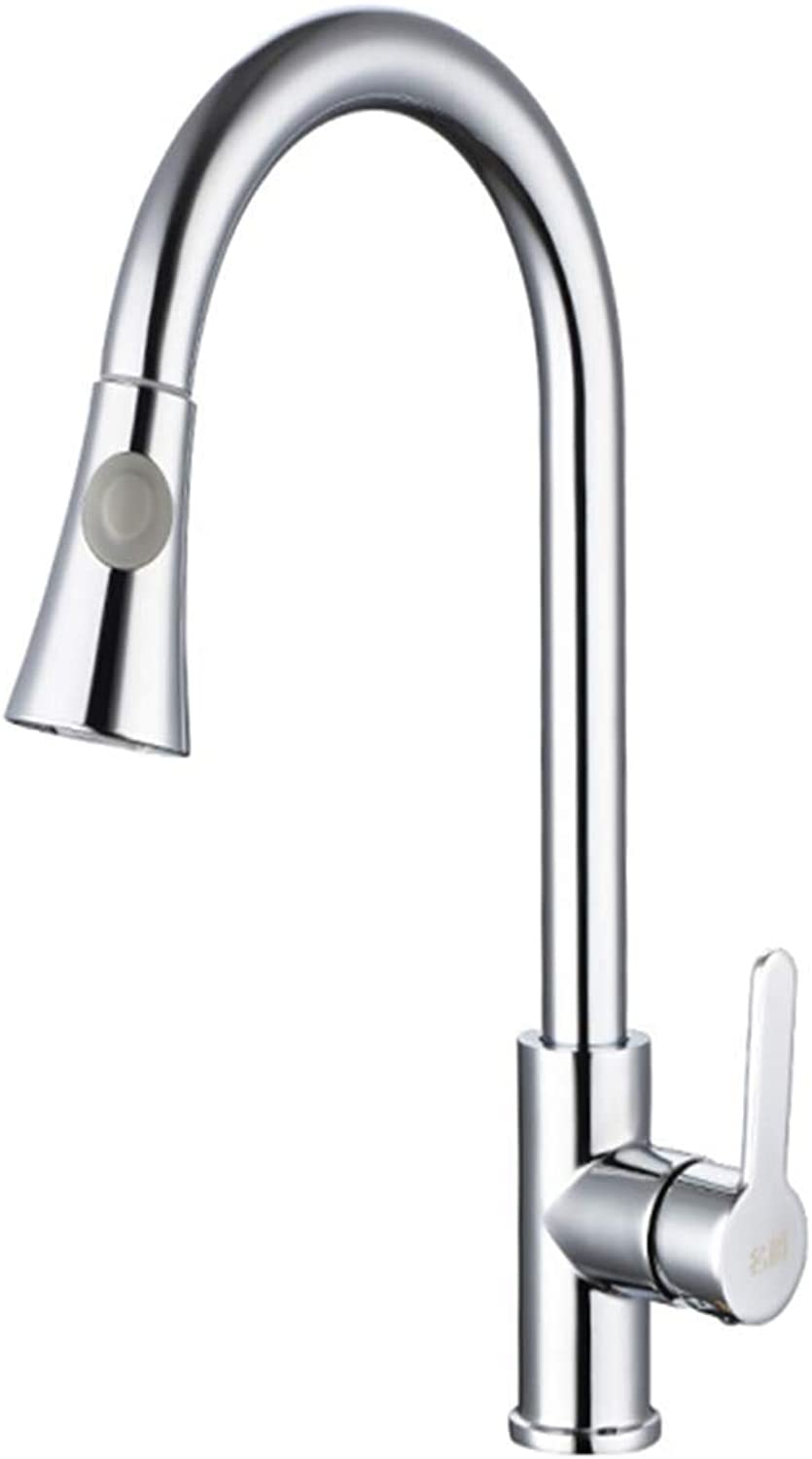 Kitchen Taps Faucet Modern Kitchen Sink Taps Stainless Steelcopper Main Faucet Cold and Hot Dishwash Basin Sink Pull Faucet