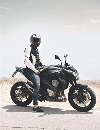 Mein Motorrad Tourenbuch: Dein persönliches Reisetagebuch für Motorrad Touren und Motorrad Reisen ♦ für über 100 Touren ♦ A4+ Format ♦ Motiv: Motorrad in der Wüste