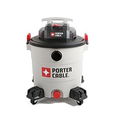 PORTER-CABLE Wet/Dry Vacuum, 12 Gallon, 6 Horsepower