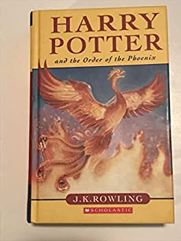 Paperback Harry Potter and the Order of the Phoenix Scholastic paperback edition Book