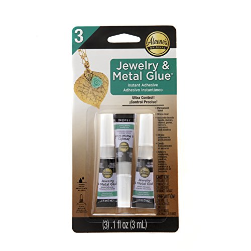 Aleene's 94830 Jewelry & Metal Glue 3/Pkg.1oz
