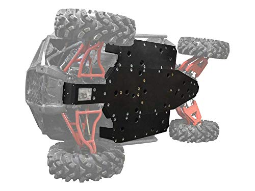 SuperATV Heavy Duty 1/2' ARMW Full Skid Plate for Polaris RZR S 1000 (2016+) - Full Front to Back Protection