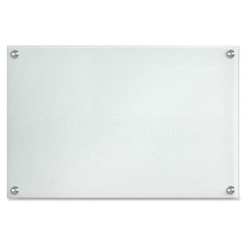 "Lorell Glass Dry-Erase Board, 24""x14"", Frost (LLR52504)"