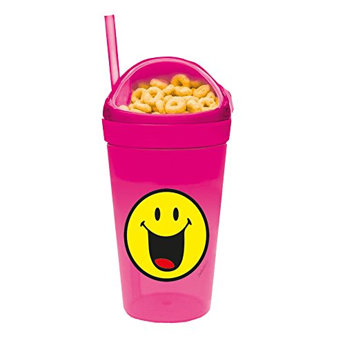 Zak! designs 6662-S112 Smiley Verre, Rose