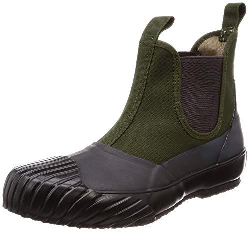[ムーンスター ファインバルカナイズ] 全天候型ブーツ 国産 バルカナイズ製法 ALW SIDEGOA カーキ 25 cm 2E