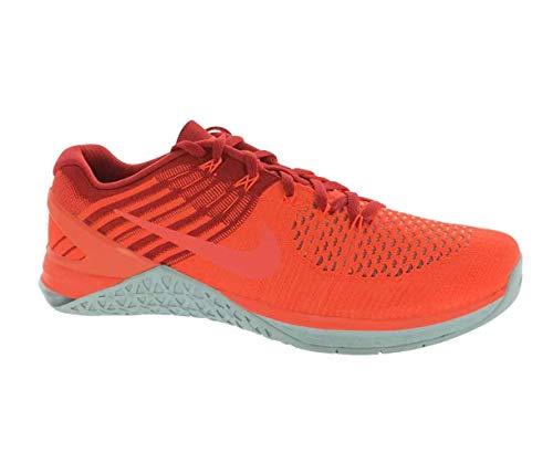 Nike Metcon DSX Flyknit 2 - Scarpe da corsa da uomo in nylon, Uomo, Total Crimson / Hyper Orange, 11