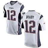 OMG020 Traje de Rugby de la NFL legendaria Segunda generación del Super Bowl Camiseta de la NFL Patriot Elite 12 Brady