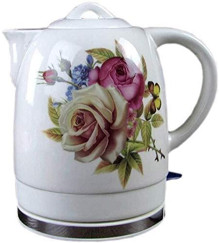 Bouilloires en céramique bouilloire électrique sans fil eau Teapot, Teapot-rétro 1.8L Jug, 1200W rapide 8bayfa