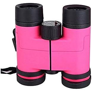 43890-timeracing Solid Color Camouflage Kids Children Binoculars Outdoor Bird Watching Tool Birthday Gift Development Toys (Pink):Cnsrd